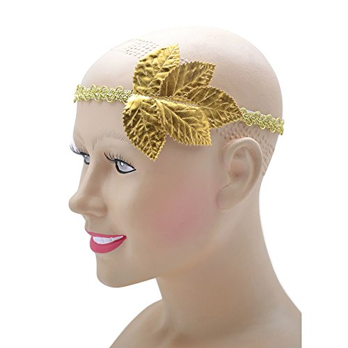 Athena Kopfbedeckung Kostüm - Bristol Novelty ba412Blattgold, Kopfband, Unisex, ONE SIZE