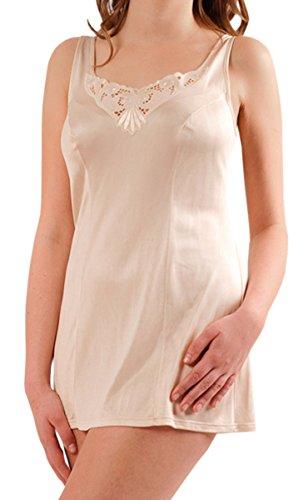Graziella Hemdröckchen aus 100% ENKA Viskose Größe 46 Puder Unterrock Unterkleid -