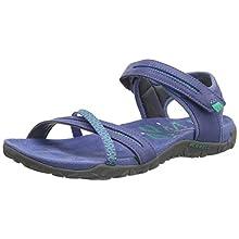 Merrell Women's Terran Cross II Ankle Strap Sandals, Blue (Thistle), 6 UK 39 EU