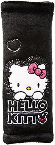 Preisvergleich Produktbild Hello Kitty HK-KFZ-443 Gurtpolster, schwarz
