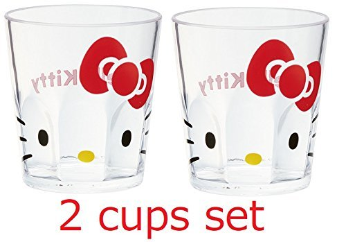 [Lot de 2 tasses] Skater Sanrio Hello Kitty Acrylique Tasse KSA4 280ml