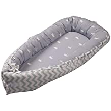 Baby Nest Nido bebé Reductor De Cuna Reversible Capullo Multifuncional de Babymajawelt