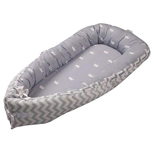Baby Nest Nido bebé Reductor De Cuna Reversible Capullo Multifuncional de Babymajawelt...