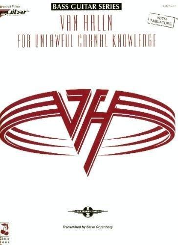 Van Halen: For Unlawful Carnal Knowledge (Bass Guitar Series) by Eddie Van Halen (Bass Van)