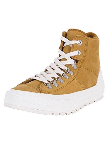 AS Hi Leather Converse Mandrini 139820C Hiker2 Lea Pigna Brown Premium Chuck, Converse Unisex Leiste 2:44