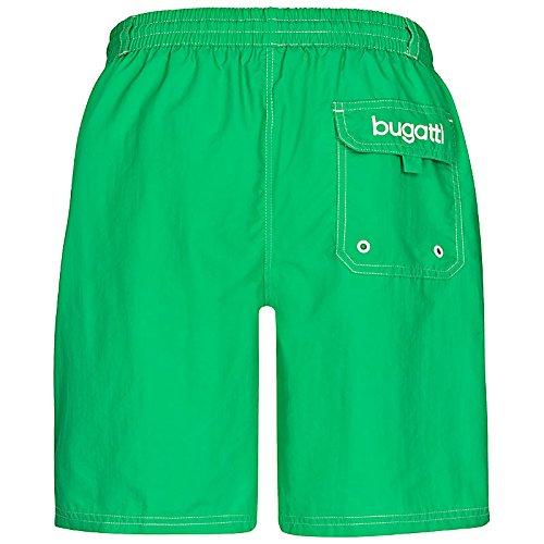 bugatti® - moderne Herren Badeshorts in mintgrün, orange, marineblau, rot, hellblau oder schwarz Mintgrün