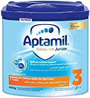 Aptamil Advance Junior 3 Next Generation Growing Up Formula From 1-3 Years, 400G