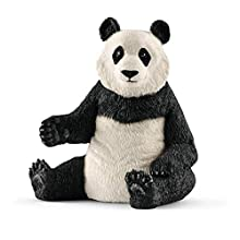 Schleich- Figurine Panda géant, Femelle Wild Life, 14773, Multicolore