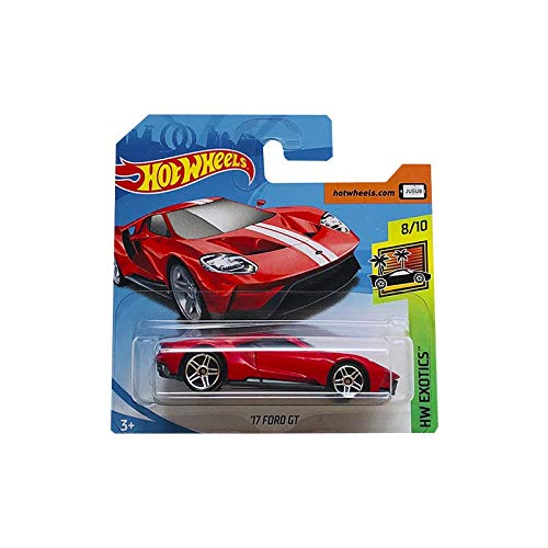 Hot Wheels 17 Ford GT HW Exotics 8/10