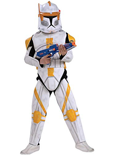 Clone Commander Trooper Kostüm - Commander Cody Kostüm Clone Trooper Deluxe für Kind