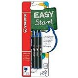 STABILO EASYoriginal - Pack de 3 recharges pour stylo roller ergonomique (encre bleue effaçable / pointe 0,5mm)