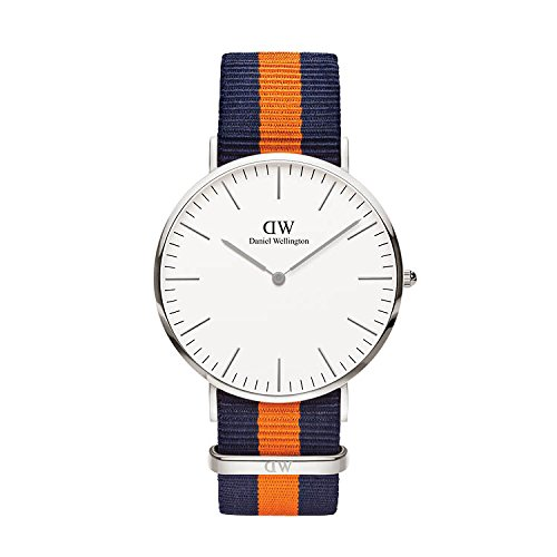 Daniel Wellington Unisex-Adult Analog Japanese-Quartz Watch with Nylon Strap DW00100100