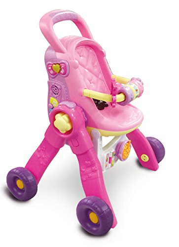 Vtech Interaktiv 154105-Buggy für Puppe-Little Love-3in 1 - 3-in-1-transformer-spielzeug