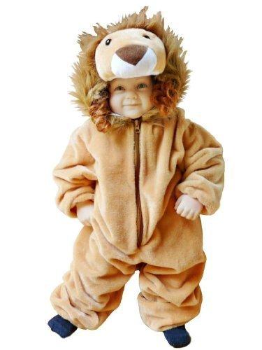 Löwen-Kostüm, F57 Gr. 74-80, für Klein-Kinder, Babies, Löwe Kostüme für Fasching Karneval, Kleinkinder-Karnevalskostüme, Kinder-Faschingskostüme, Geburtstags-Geschenk Weihnachts-Geschenk (Jungen Für Ideen Baby-kostüm)