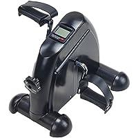MystiTL Minibicicleta Mini Bike Minibicicleta Estática con LCD Pantalla Pedaleador Plegable Aparato de Ejercicios para Entrenamiento
