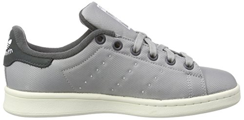 adidas Stan Smith, Baskets Basses Homme Gris  (Mgh Solid Grey/Dgh Solid Grey)