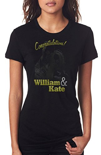 Congratulations William And Kate - Ladies T-Shirt