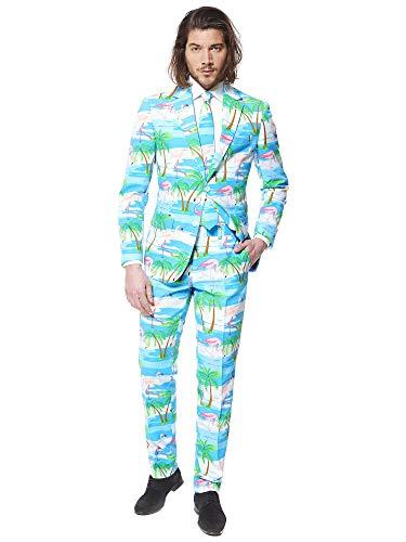 all kostüme für Herren - Mit Jackett, Hose und Krawatte mit Festlichen Print ()