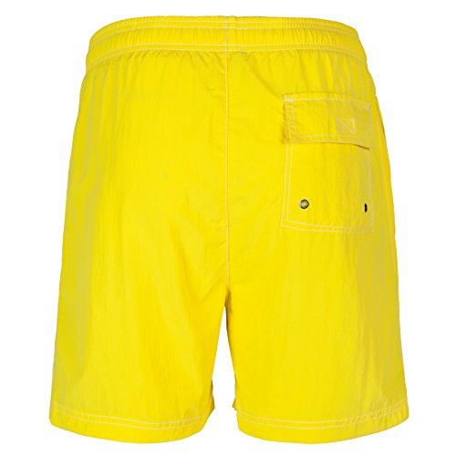 Henleys Herren Badehose Gelb