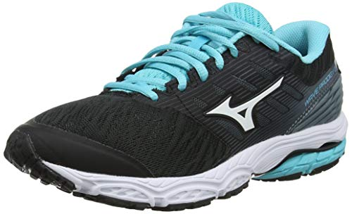 Mizuno Wave Prodigy 2, Scarpe Running Donna, Nero (Black/White/Stormy Weather 16), 40 EU