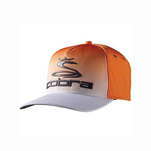Cobra Youth Tour Fade Cap Vibrant Orange/White
