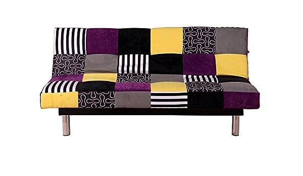 Divano Letto Patchwork : Divano letto divano relax lotte patchwork colorato amazon