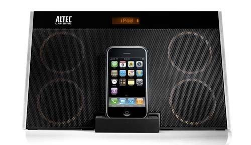 Altec Lansing inMotion Max iMT702 Dockingstation für iPod und iPhone, schwarz - Altec Lansing Iphone