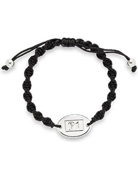 Leonardo Jewels Unisex-Armband Edelstahl schwarz Freundschaft P1 15029