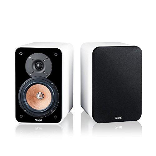 Teufel Ultima 20 Mk2 Weiß Regal-Lautsprecher sound bassreflex 3-wege flac hifi Hochtöner Lautsprecher high end hifi speaker high end lautsprecher