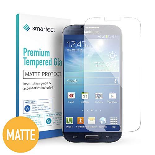 smartect Pellicola in Vetro Temperato per Samsung Galaxy S4 / S4 Neo [1x Mat] - Pellicola Protettiva con durezza 9H - Salvaschermo Anti-Impronte e Anti-Bolle