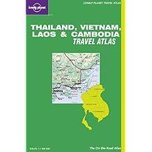 Thailand, Vietnam, Laos & Cambodia road atlas (Lonely Planet Travel Atlases)