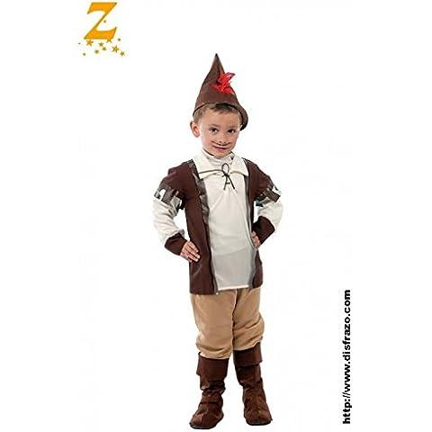 Disfraz de Robin de los Bosques (4-6 años)
