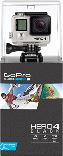 GoPro–Videocamera Sportiva HERO4Black Edition