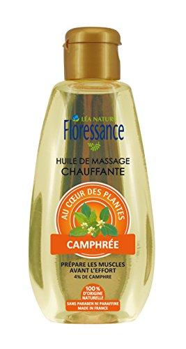 Floressance par nature Huile de Massage Chauffante Camphrée 150 ml - Lot de 2