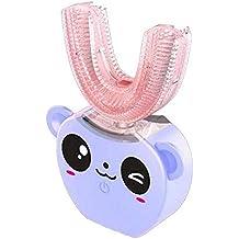 Cepillo de dientes de luz fría de los niños 360 ° automático en forma de U