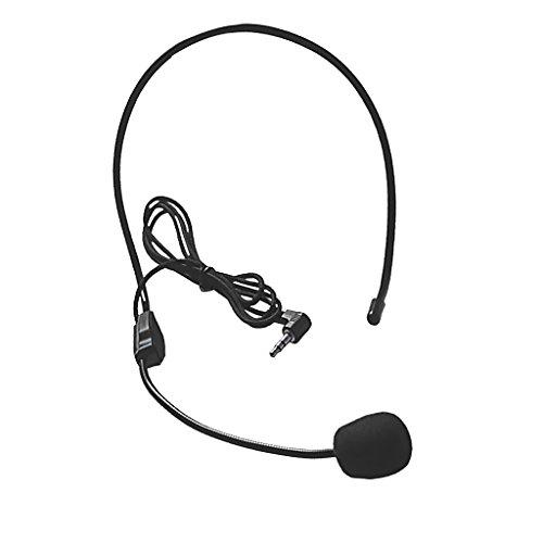 Homyl 3,5 mm Stecker Omnidirektionale Desktop Kondensator Mikrofon für Unterricht, Reiseleiter, Verkauf