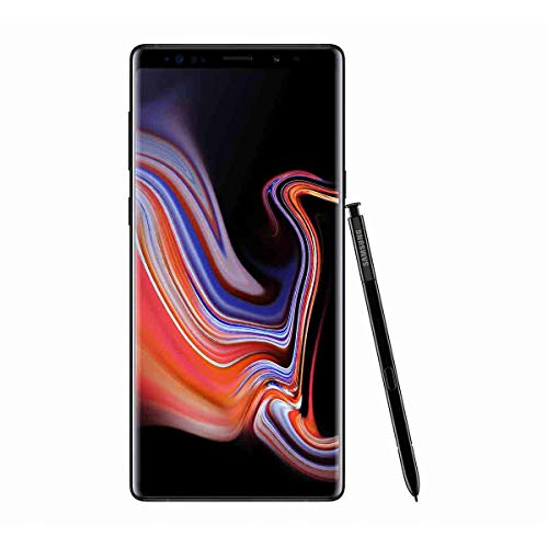 "Samsung Galaxy Note9 Smartphone, Black (Midnight Black), 6.4 Display "", 128 GB Expandible, Dual SIM [versión en inglés]"