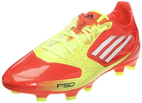 adidas F10 Trx Fg, Chaussure de football homme - Orange (For ne/blanc/ lectri), 41 1/3 EU