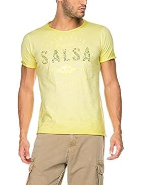 Salsa Camiseta branding amarilla