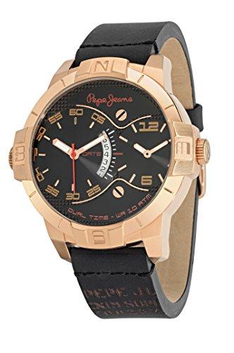 Pepe Jeans R2351107001 - Reloj con correa de acero para hombre, color negro / gris