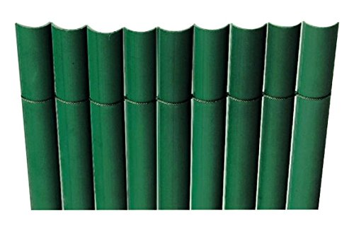 Intermas - Canisse PVC simple face Vert 85% occultant 1x3 m PLASTICANE Intermas