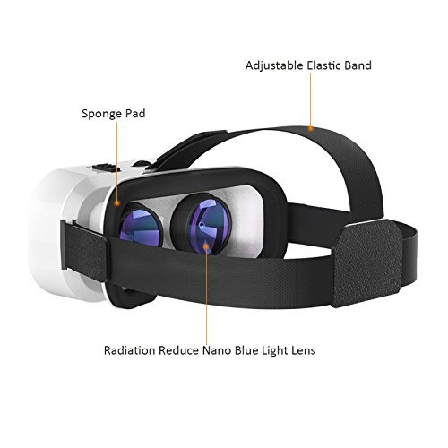 VR Brille, Hotweild VR Headset 3D VR Brille Virtuelle Realität Brille Headset...
