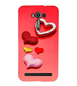 EPICCASE glittering palates Mobile Back Case Cover For Asus Zenfone 2 Laser ZE550KL (Designer Case)