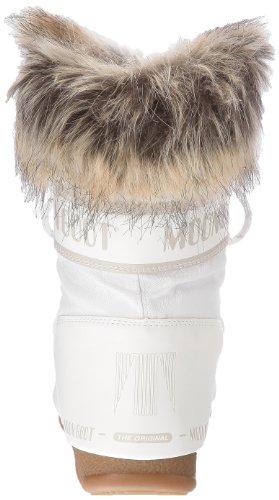 Moon Boot W.E. Monaco Low, Boots femme Blanc (Bianco)