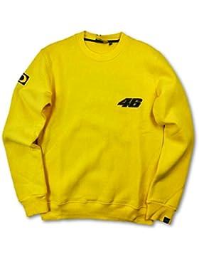 Valentino Rossi VR|46Motogp uomo giallo 2002–01Crew felpa, Uomo, Yellow, M