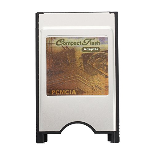 TOOGOO (R) Adapter Karte PCMCIA CF Compact Flash X Notebook