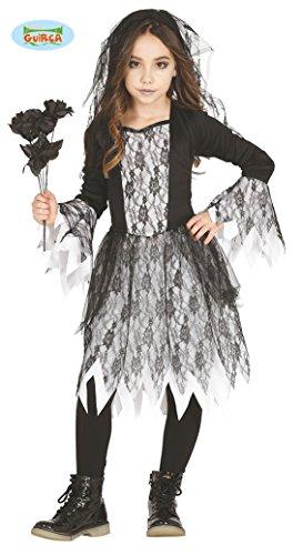 Imagen de disfraz de novia cadáver para niña
