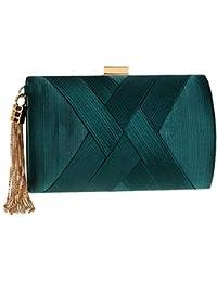 ca2f57289 Amazon.es  Seda - Carteras de mano y clutches   Bolsos para mujer ...