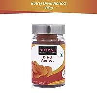 Nutraj Dried Apricots 100g Silver Jar