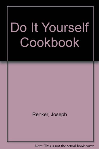 Do It Yourself Cookbook